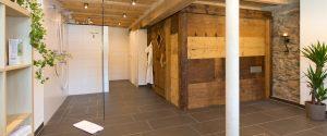 Wellnessbereich mit Sauna, Duschen, Liegen und WC / Griesbachhof-Schwarzwald
