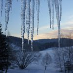 Eiszapfen am Griesbachhof