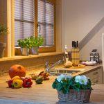 Ferienwohnung Innenräume: Designküche mit umfangreicher Ausstattung