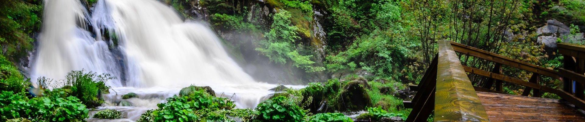 Erlebnis Slider 1920x400: Triberger Wasserfälle