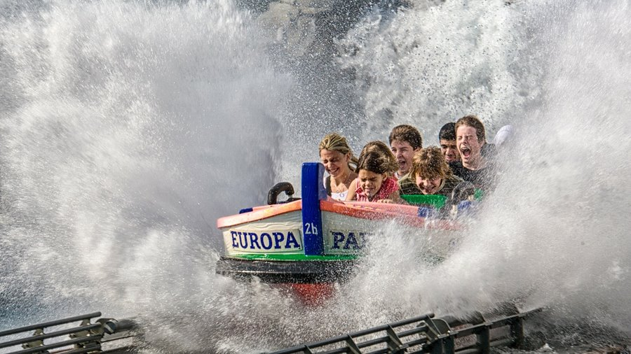 Freizeit Attraktion: Europapark Rust
