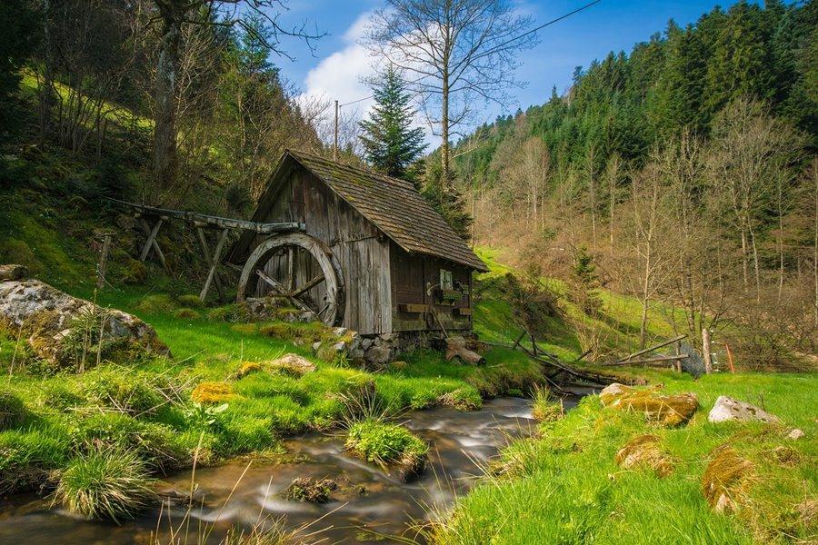 Tradition Attraktion: Mühle im Schwarzwald