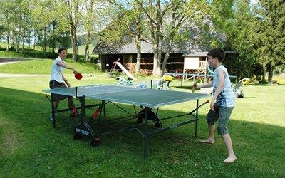 Spiel und Spaß Erlebnisbox: Tischtennis-Duell