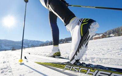 Sport im Winter Erlebnisbox: Langlauf klassisch und Skating in der Nähe des Griesbachhofs