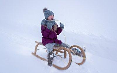 Sport im Winter Erlebnisbox: Rodeln im glizernden Weiß