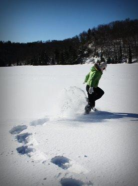 Willkommen Trailer Box Erlebnisse Sport im Winter: Schneeschuhwanderung